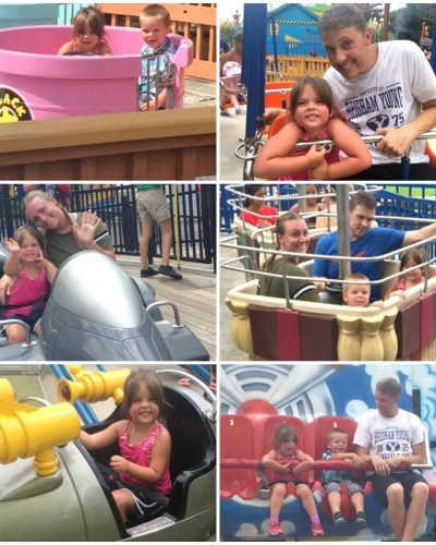 A Family Day at Six Flags Over Texas is Always a Good Idea no Matter the Weather