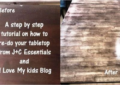Photo tutorial on how to redo your table!