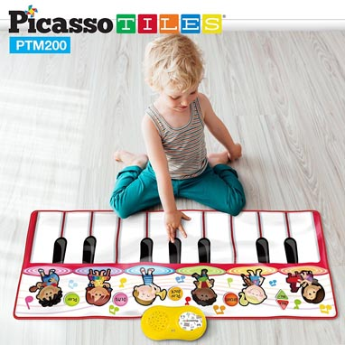 2017 Holiday Gift Guide for Children 5 to 7 - PicassoTiles Piano Playmat