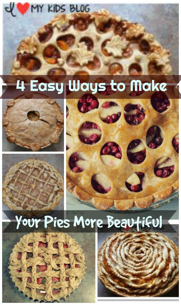 Four easy ways to make your pies more beautiful this holiday season