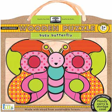 2017 Pre-K Holiday Gift Guide Busy Butterfly Puzzle