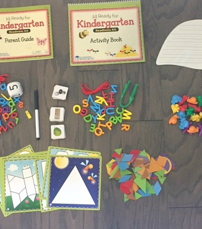 Getting Your Child Ready for KinderGarten is Made Easier with the All Ready for Kindergarten Readiness Kit from Learning Resources