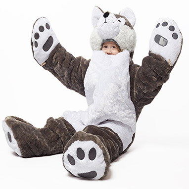 2017 Holiday Gift Guide SnoozZoo Wolf