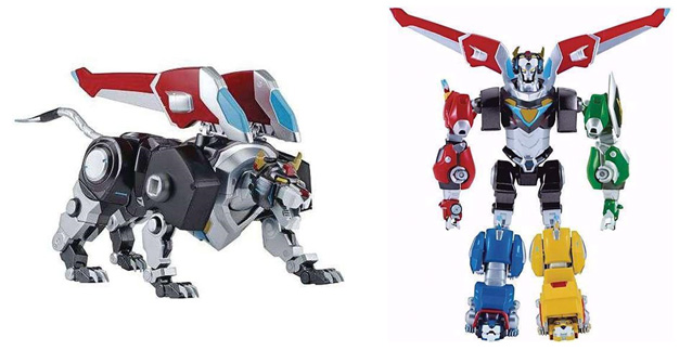 2017 Holiday Gift Guide for Children 5 to 7 - voltron black lion