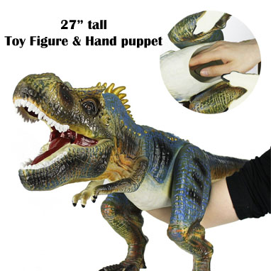 2017 Pre-K Holiday Gift Guide dinosaur hand puppet