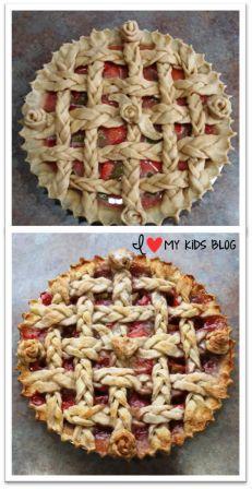 pies more beautiful lattice braid