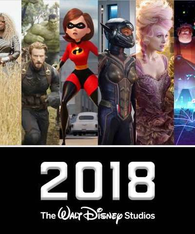 New Walt Disney Studios Movies To Look Forward To In 2018!