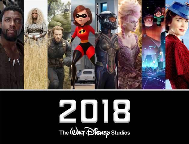 2018 movie line up