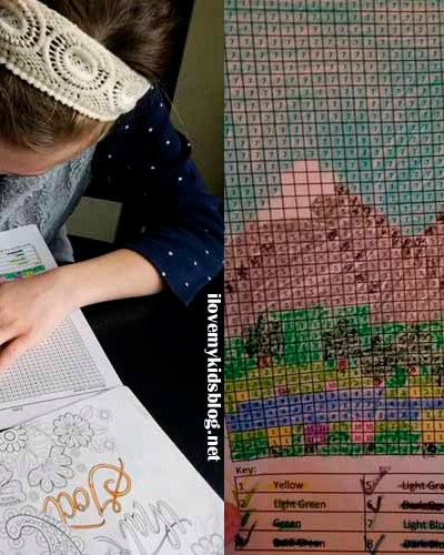 Three Free Color by Number Resources We Love To Use For Our Autistic Son