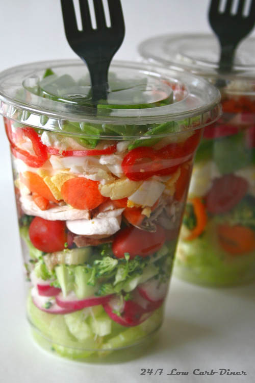 Veggies Most: Chopped Salad in a Cup