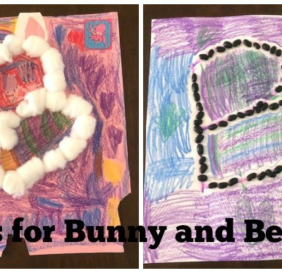 B is for Bunny and Beans: Preschool Activites for the Letter B