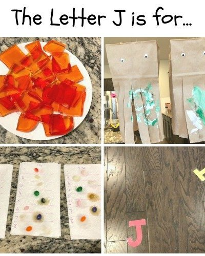 J is for Jello, Jellyfish, Jelly Bean and Jump: Preschool Activities for the Letter J