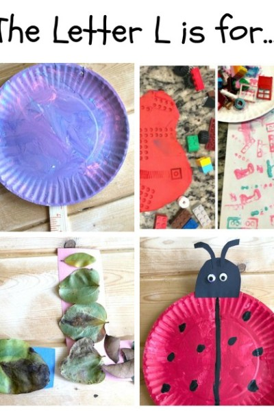 L is for Lollipop, Lego, Leaf, and Ladybug: Preschool Activities for the Letter L