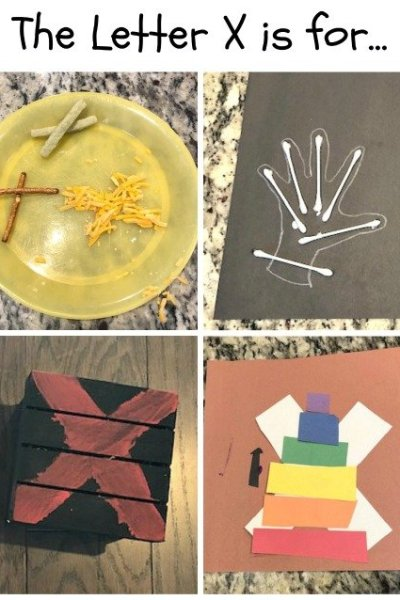 X is for X food, X-ray, X Marks the Spot and Xylophone: Preschool Activities for the Letter X