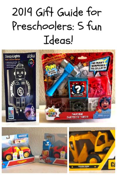 2019 Gift Guide for Preschoolers: 5 Fun Ideas!