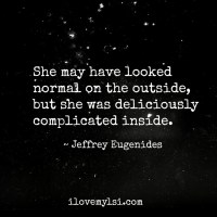 Deliciously complicated inside.