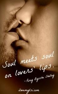 Soul meets soul.