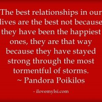 The best relationships.