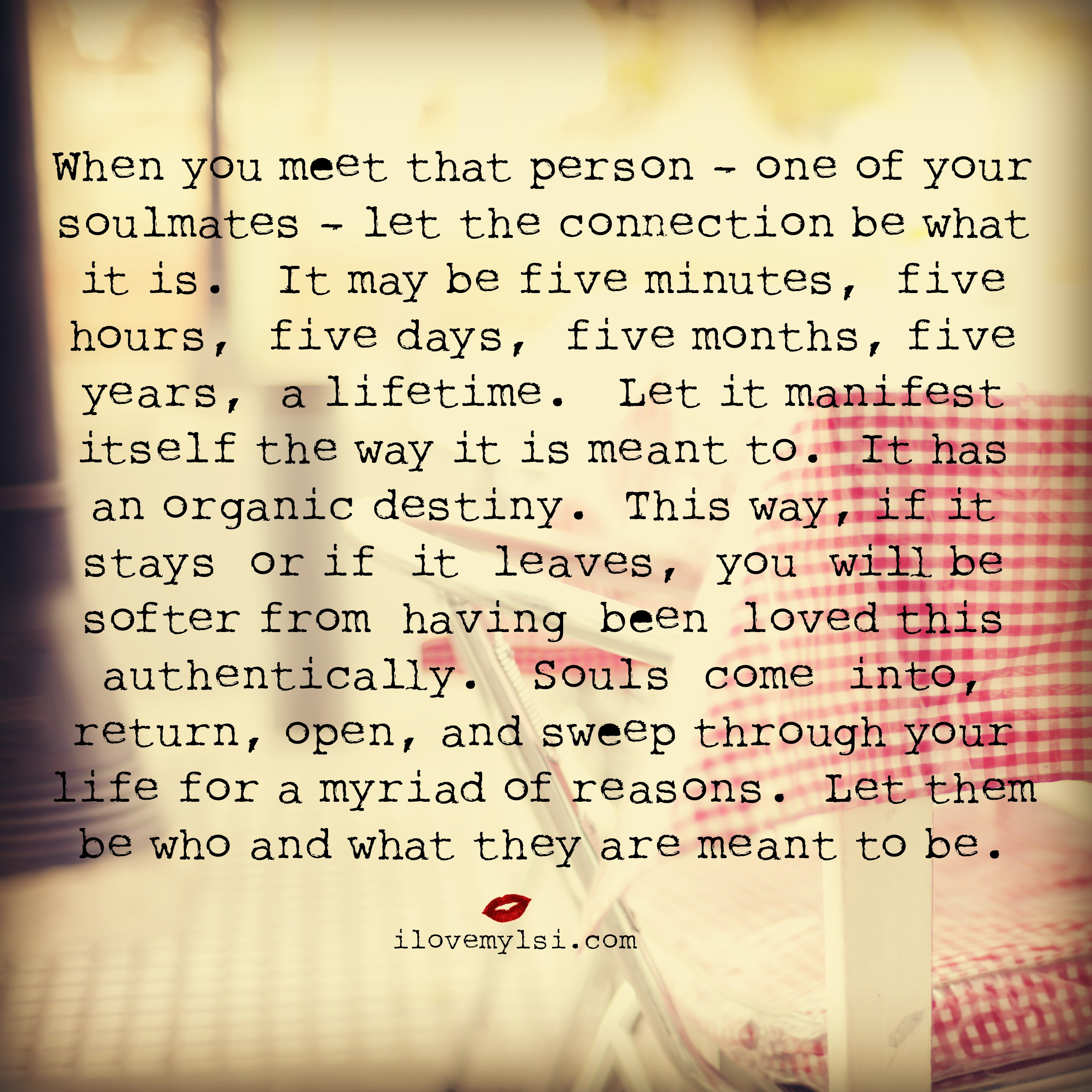 Soulmates Love Quotes About Life: Quotes About Meeting Your Soul Mate. QuotesGram