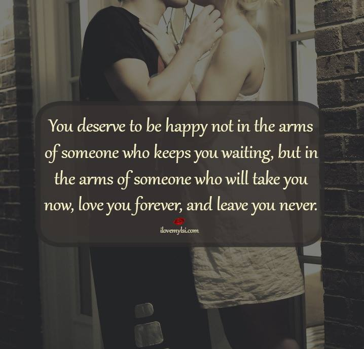 To Hate Like This Is To Be Happy Forever Quotes: Deserve Happiness Quotes. QuotesGram