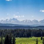 Grand Teton NP distant view