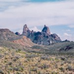 Big Bend NP Mule Ears Peaks