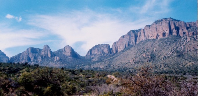 Big Bend NP Chisos Mountains