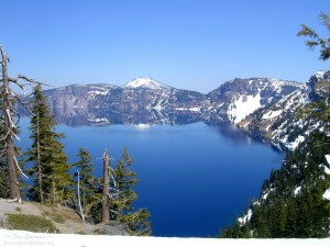Crater Lake NP Discovery Point