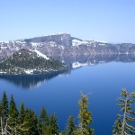 Crater Lake NP Rim Village View