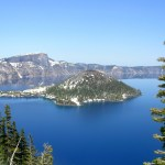 Crater Lake NP Wizard Island