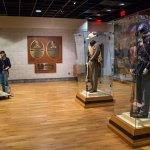 Gettysburg NMP uniforms in museum