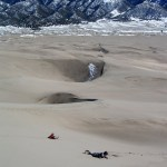 Great Sand Dunes NP rolling down