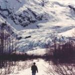 Kenai Fjords NP hiking to Exit Glacier