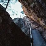 Pinnacles NP High Peaks Trail stairs