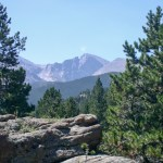 Rocky Mountain NP Longs Peak