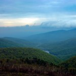Shenandoah NP Moormans River overlook