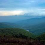Shenandoah NP Moormans River overlook