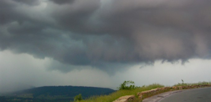 Shenandoah NP tornado cloud