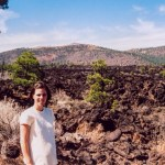 Sunset Crater NM lava field