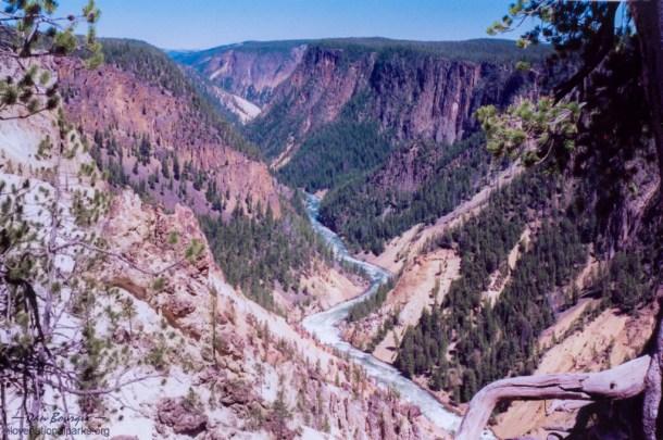 Yellowstone NP Grand Canyon
