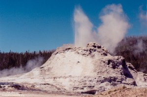 Yellowstone NP Castle Geyser