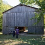 Natchez Trace tobacco farm