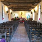 San Antonio Missions NHP Espada church interior