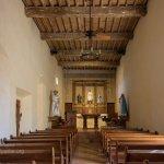San Antonio Missions NHP San Juan church interior