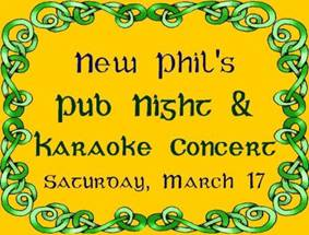 New Philharmonia Orchestra, St. Patrick's Day Concert, Newton