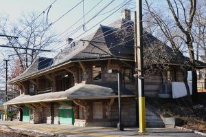 H. H. Richardson, architect, Newton, Newton Highlands T Stop