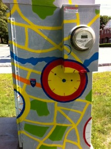 Newton Electrical Box Art, BoxART, Newton outdoor art projects
