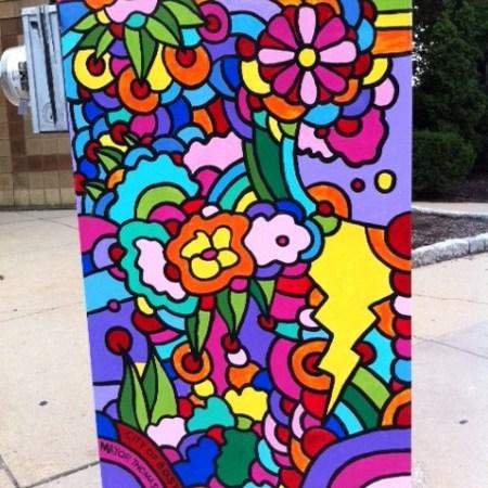 Allston, Boston, street art gallery, box art,