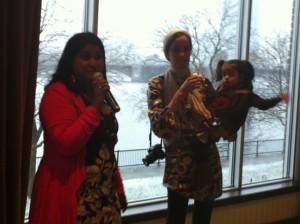 Mommy Niri, The Frugalette, Boston Social Media Peeps Holiday Party