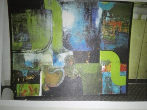 Portilla Oil on canvas- art
